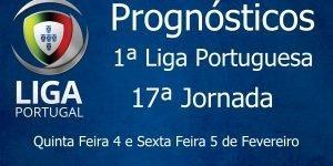 Prognósticos para a Primeira Liga Portuguesa - 17ª Jornada