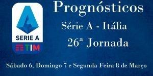 Prognósticos para a Série A - Itália - 26ª Jornada