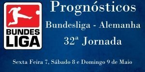 Prognósticos para a 32ª Jornada da Bundesliga - Alemanha