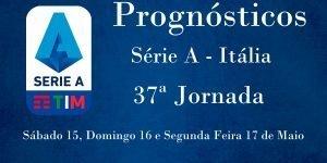 Prognósticos para a Série A - Itália - 37ª Jornada