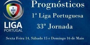 Prognósticos para a Primeira Liga Portuguesa - 33ª Jornada