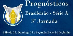 Prognósticos para a Série A - Brasil - 3ª Jornada
