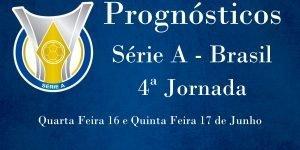 Prognósticos para a Série A - Brasil - 4ª Jornada