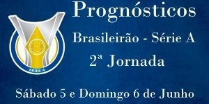 Prognósticos para a Série A - Brasil - 2ª Jornada