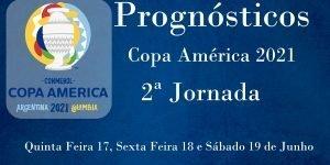 Prognósticos - Copa América 2021 - 2ª Jornada