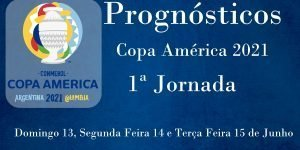 Prognósticos - Copa América 2021 - 1ª Jornada
