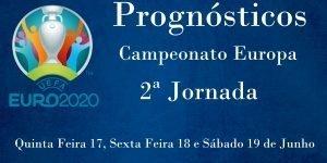 Prognósticos - Campeonato da Europa 2020 - 2ª Jornada