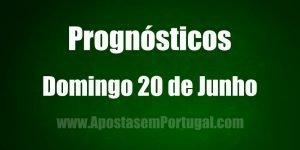 Prognósticos - Domingo 20 de Junho