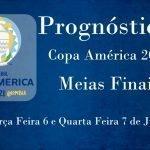 Prognósticos – Copa América 2021 – Meias Finais