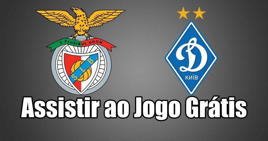 Como Assistir ao Jogo Benfica Dínamo Kyiev Online grátis