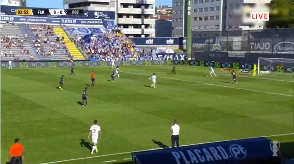 Famalicão Porto online grátis. Assiste ao jogo com excelente qualidade HD