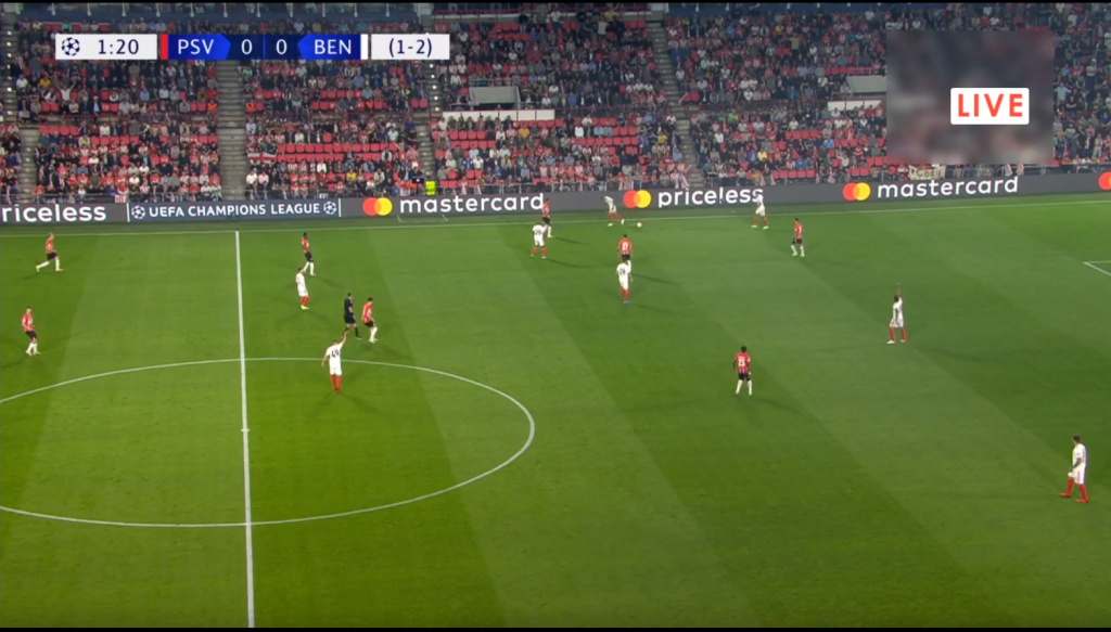 PSV Benfica online grátis. Assiste qualquer dispositivo móvel