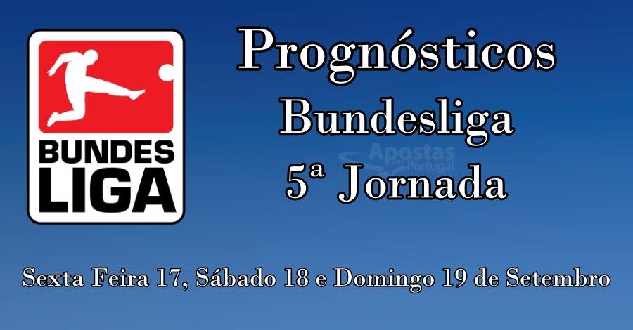 Prognósticos para a Bundesliga - 5ª Jornada