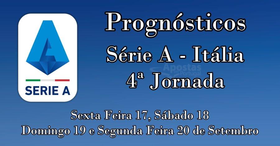 Prognósticos para a Série A de Itália - 4ª Jornada