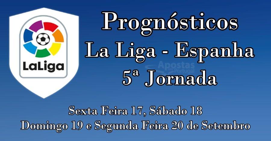 Prognósticos para a LaLiga Espanha - 5ª Jornada