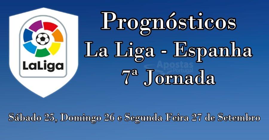Prognósticos para a LaLiga Espanha - 7ª Jornada