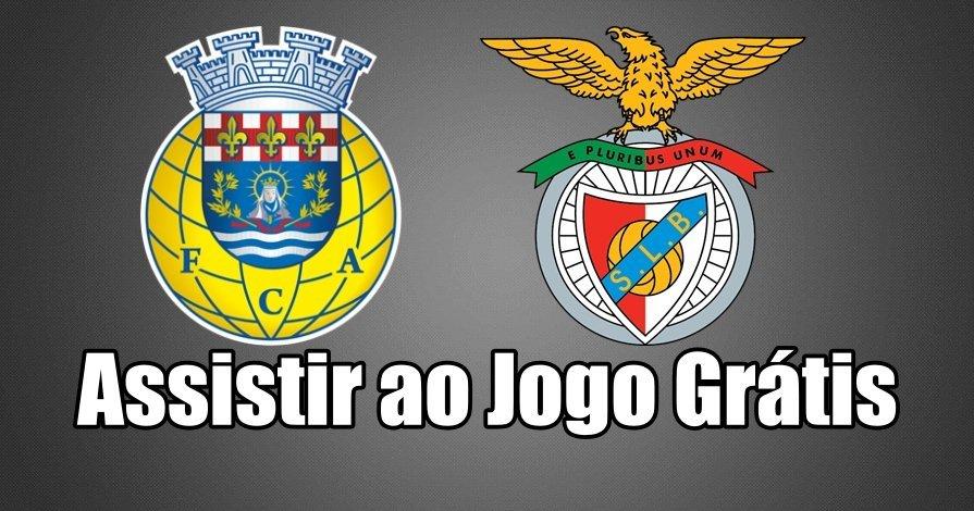 Assiste ao jogo entre o Arouca Benfica totalmente grátis