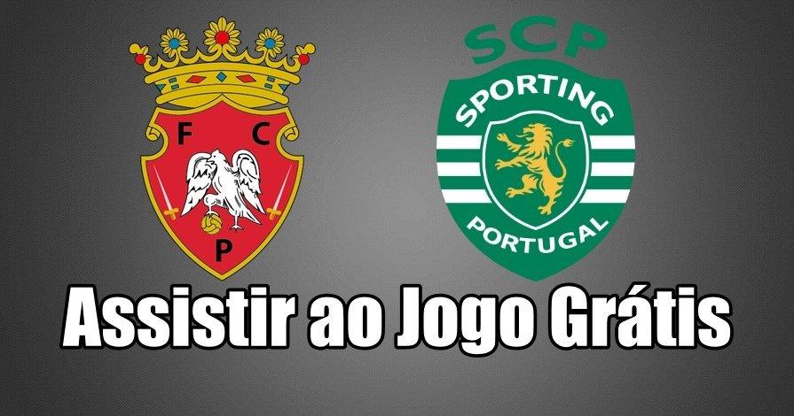 Assistir ao Jogo Penafiel Sporting ao vivo grátis