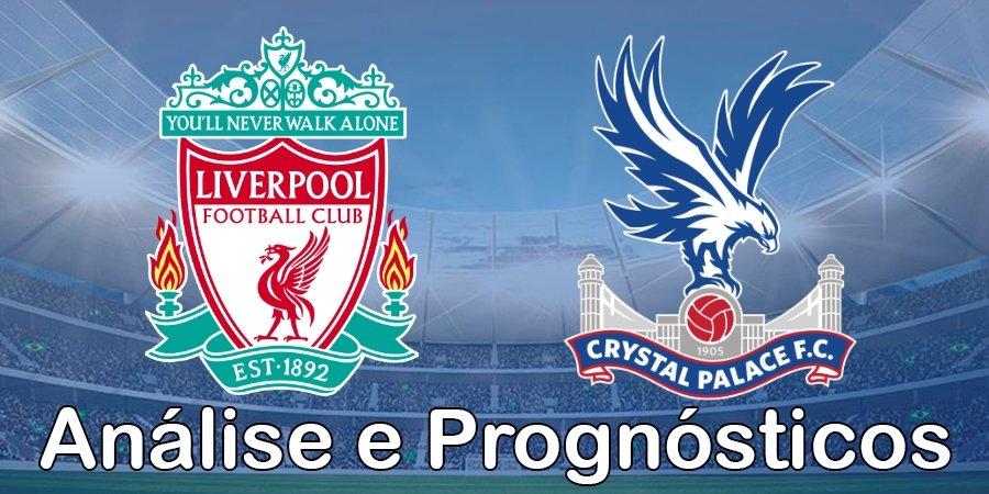 Liverpool vs Crystal Palace – Análise e Prognósticos – Premier League