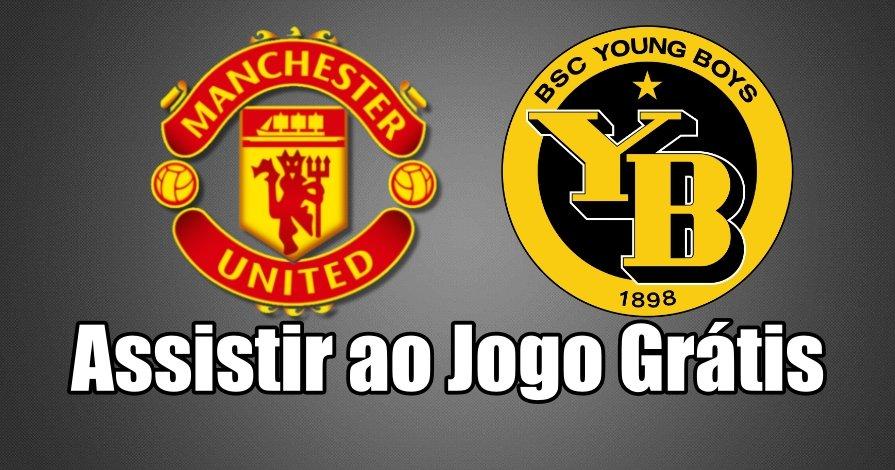 Manchester United Young Boys direto grátis. Assiste online com qualidade