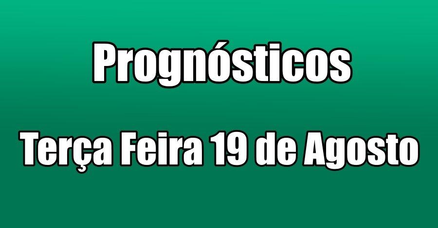 Prognósticos – Terça Feira 19 de Outubro