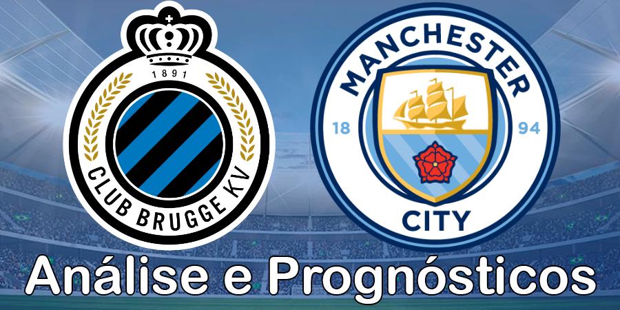 Brugge vs Man City – Análise e Prognósticos